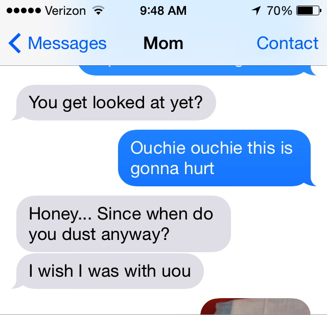 thanks, mom